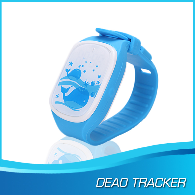 Real time tracking Wrist watch gps tracking device for kids
