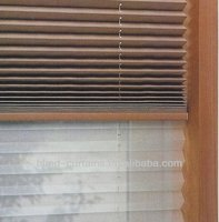 2015 hot sale good quality daylight&blackout plisse curtain