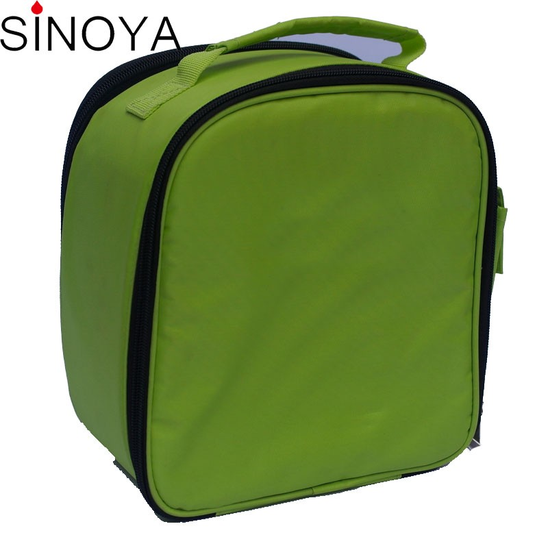 Top sale OEM/ODM PVC/leather promotional lunch bag cooler