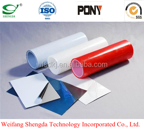 Film Manufacture Good Quality PE Surface Protective Film for Stainless Steel, Color Coated Steel