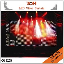 Wholesale led curtain/flexible led screen/soft led display ...