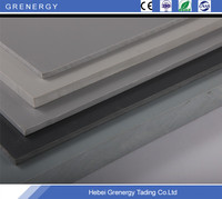 Polypropylen homopolymer extruded rigid engineering gray PP plastic sheet