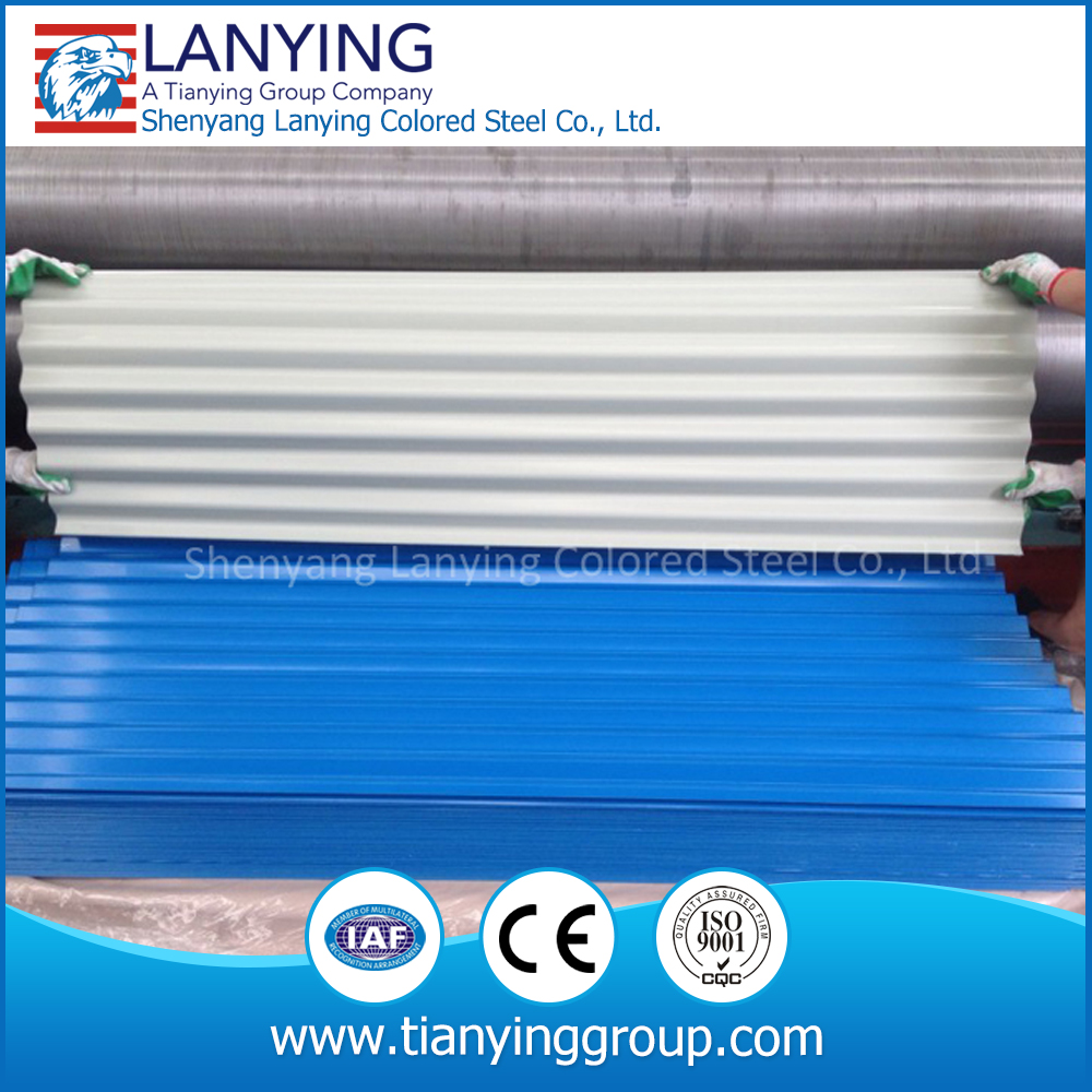 High quality corrugated galvanized steel sheet with price