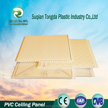 Chinese fashionable morden interior decorative material PVC ceiling panel, PVC wall panel