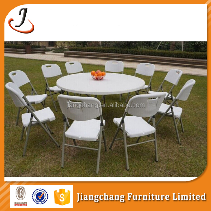 Furniture Modern Plastic Folding Chair Table Wholesale JC-T116