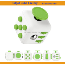 Mixed different colors 12 sided fidget cubes or 6 side fidget cube camouflage
