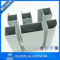 Hot sale anodized silver / powder coated white Aluminium Extrusions Profiles