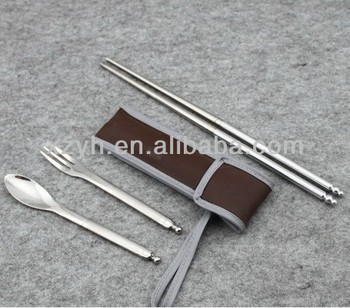 3pcs set flatware for travel