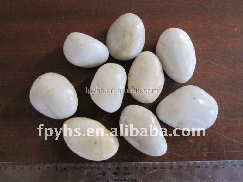 wholesale white river rock landscaping price low