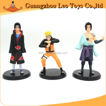 Famous Cartoon Characters Naruto Action Toys Making PVC Resin Figure