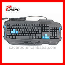 Computer gaming usb ps2 type keyboard