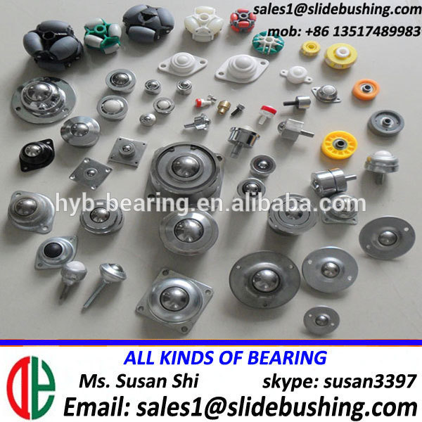Ball Transfer Unit And Conveyor Skate Wheel (Pressed / Bearing Structure) Nylon Steel(S.S Carbon Chrome Bearing) Transport Wheel
