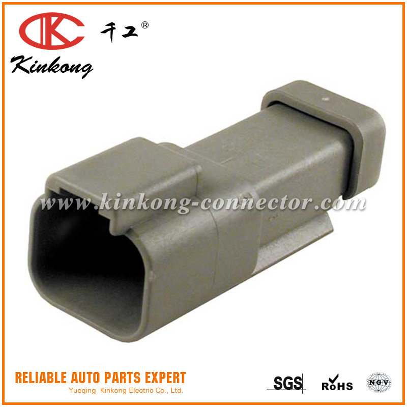 2 pin/cavities automotive deutsch dt connector DT04-2P-E003/AT04-2P-EC01