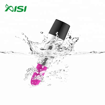 Lipstick Shaped Multi Speed Waterproof Small Vibrator Massager