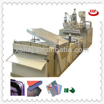 ABC three layers plastic foam sheet extrusion line for visor caps