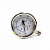 High Quality 2.5'' 4'' 6'' Face Stainless Steel Water Gas Pressure Gauge with oil