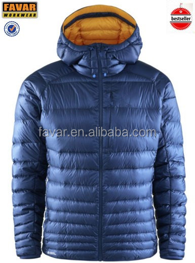 light thin duck down jacket packable down jacket for men
