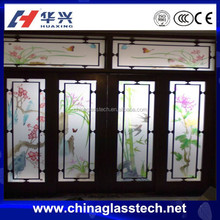 Aluminium Profile Heat Insulation Sliding Stained Glass Door Inserts