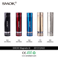 full mechanical ecig Smoktech Magneto mod stainless steel Magneto II colorful vaporizer