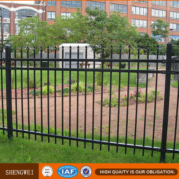 spear top metal fence,spear top ornamental fence,custom iron fence