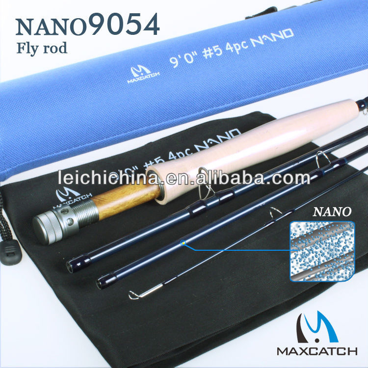 IM12 nano technology construction carbon fly rod
