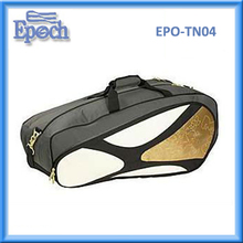 Unique tennis racket bag badminton bag nice sport duffle bag 6 rackets