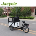 Alloy or Steel frame 3 wheel electric cargo bike