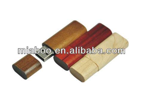wood usb flash drive with customized logo
