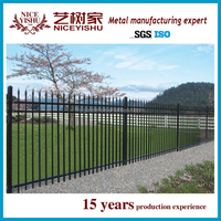Yishujia Factory Iron Border Fence Designs