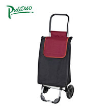 PLD-5001 portable folding shopping trolley bag with wheels
