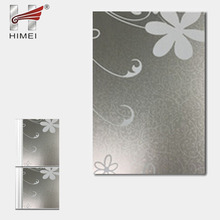 Beautiful material decorative panel pattern metal sheet for refrigerator
