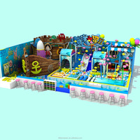 80 Square Meters Pirate Ship Indoor Playground Equipment