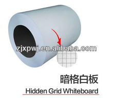 Grid Line White Board Steel Surface Sheet Coil