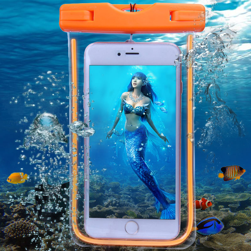 Waterproof Case Underwater Bag For iPhone 5 5S 6s 7 Plus waterproof case for samsung galaxy j5 water proof phone case