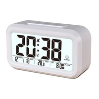 LCD Screen Digital Alarm Clock