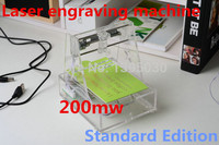 Laser engraving machine, micro engraved 7*7CM Automatic carving The blue violet 200mw freeshipping by DHL