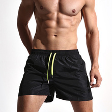 wholesale sports clothing athletic workout blank sweat shorts Mini booty men gym running shorts