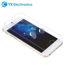 2 in 1 anti uv tpu anti-shock shatterproof glass 0.26 ultra clear manufacture tempered glass screen protector for iphone 6