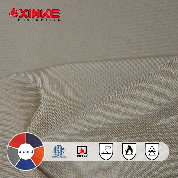 Durable Inherent Anti-cut Para Aramid Fabric for Gloves and Workwear