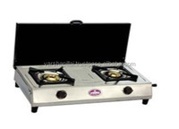 Double Burner Cooking Gas Stove India