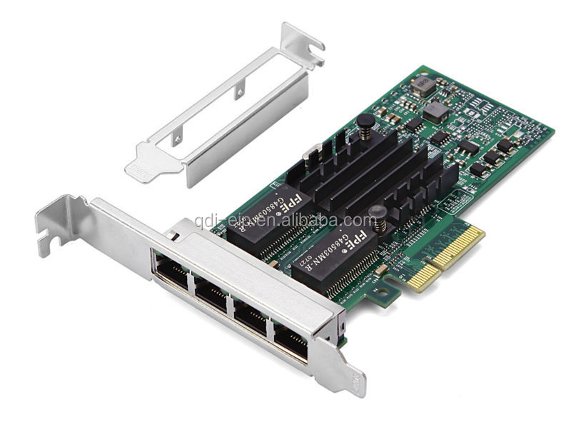 Intel I350-T4 PCI-E Server Network Card with 4 Gigabit nics Intel i350t4 Multi-port Network Adapter
