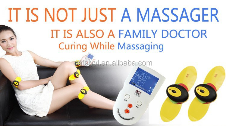 2017 long distance wireless portable design physiotherapy medical tens massager unit