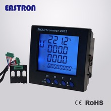 Smartconnect X835, Panel Power Meter ,plug in connection digital ammeter, SGS approved,Modbus RS485+Pulse Output, 96x96