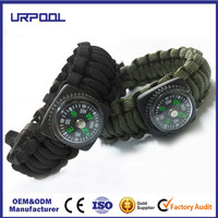 survival bracelet paracord cheap whistles hiking survival bracelet
