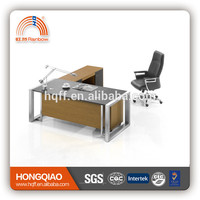 stainless steel computer desk durable modern executive table office desk supply office desk set