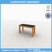 wood table display stands