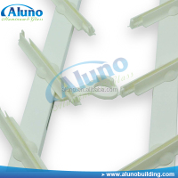 Aluminum and Glass Louvers Frame plastic clip