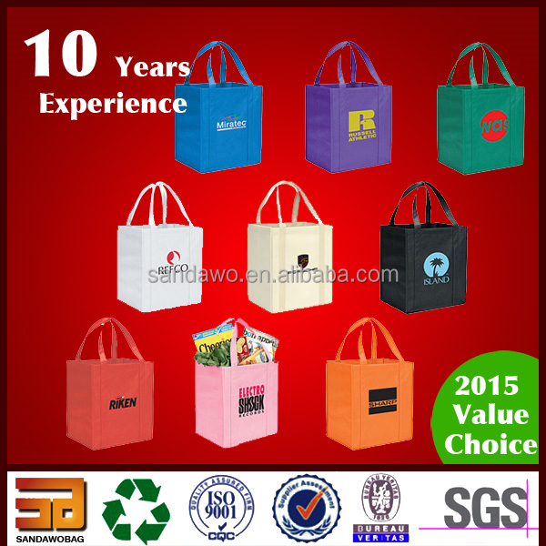 Excellent quality Chromed pvc tote bag