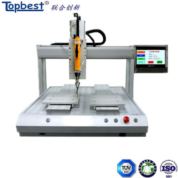 High performance PLC Control Panel automatic screwdriver machine with locking screw fast