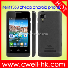 Best 3.5 inch Android Smartphone Itel it1353 SC6820 Android 4.4.2 Cheap GSM Mobile Phone